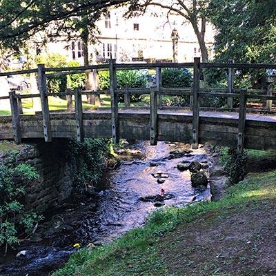 View across river Derwent to Derwent House