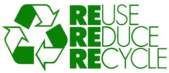 Reuse, reduce recycle at Glendon Guest House