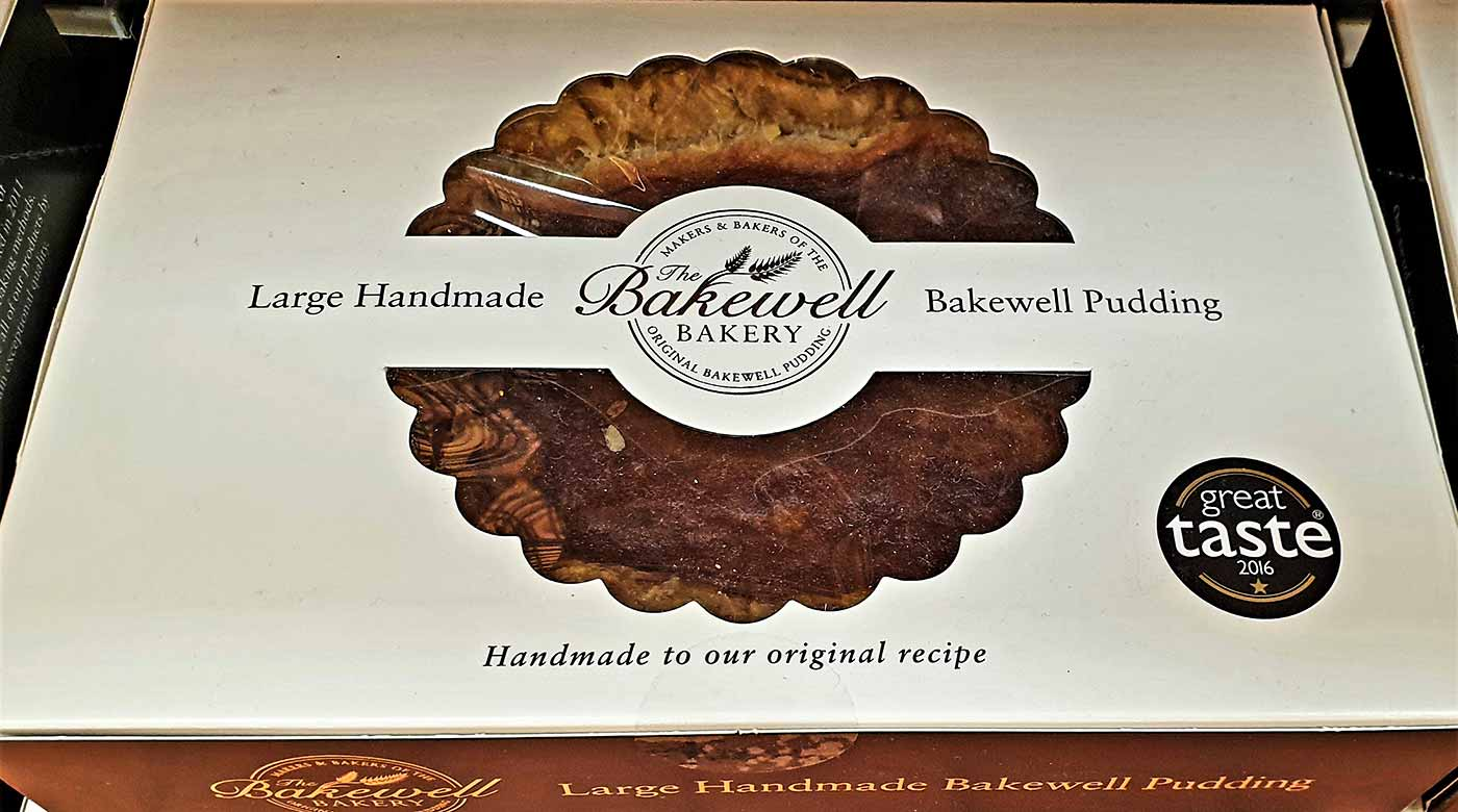 The Bakewell Pudding in a box