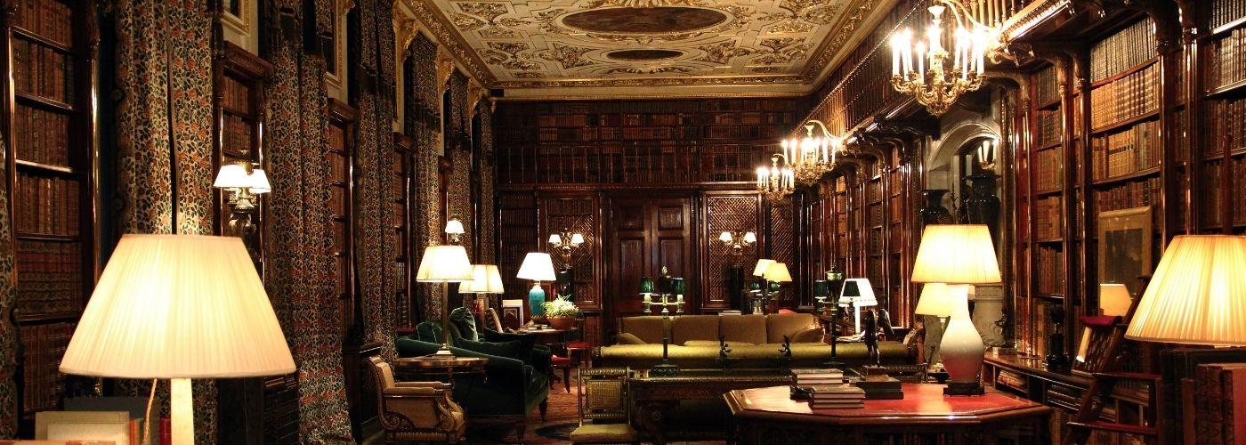 Interior of Chatsworth House