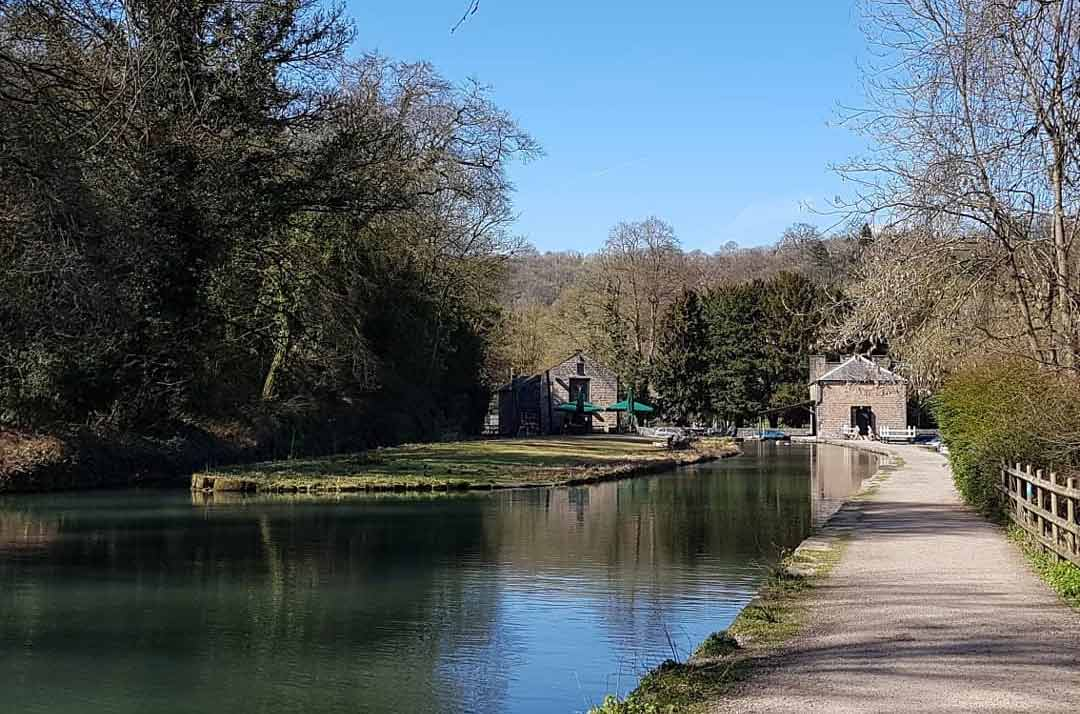 Pub on the Cromford Canal