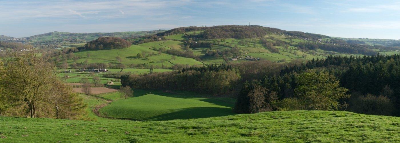 View across Derbyshire