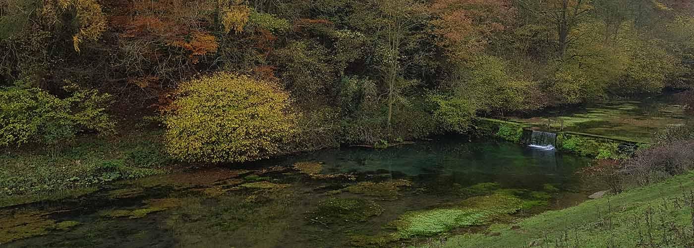 Autumn walk in Lathkill Dale
