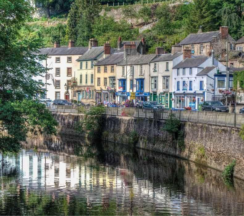 Matlock Bath on River Derwent