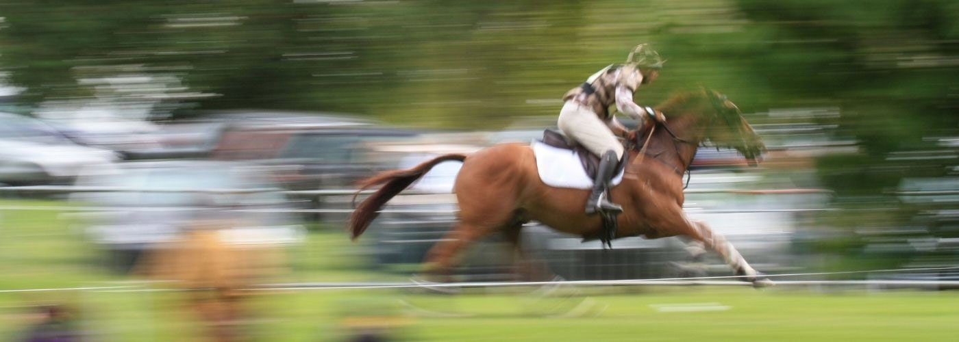 Horse trials at Chatsworth house