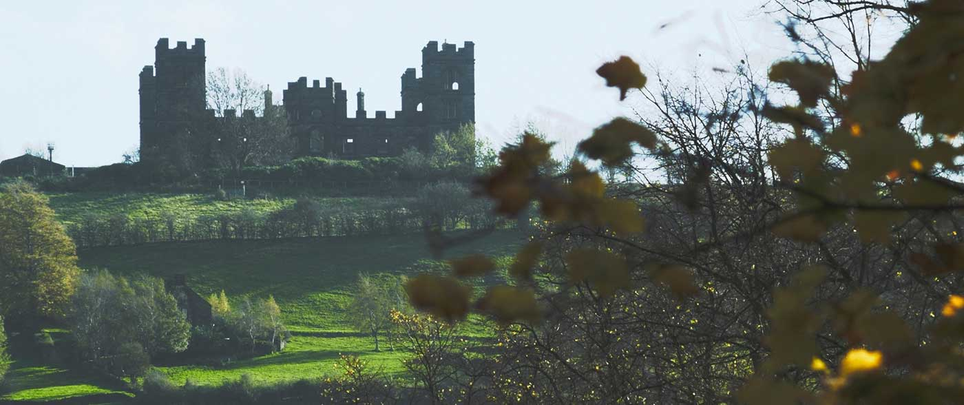 View of Riber Castle from Matlock